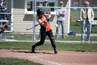 040712 Lady Railroaders vs Minster Fast Pitch